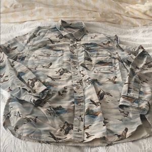 Wallace and Barnes button down men's size large